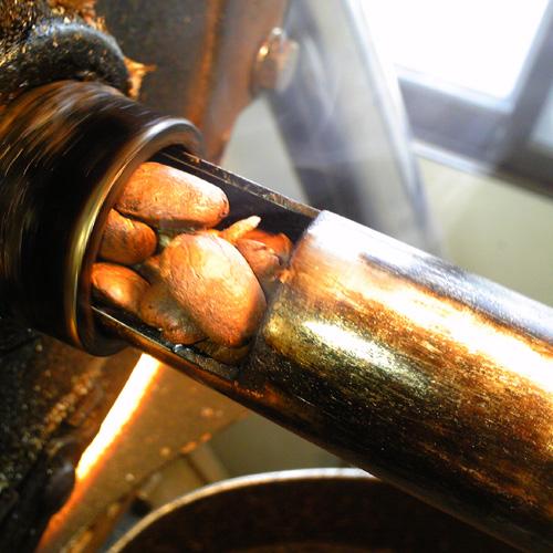 焙煎機の改造 (排気)